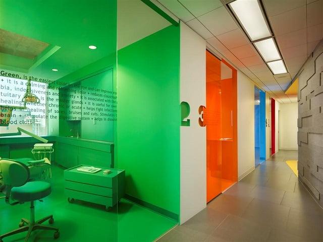 Colorful Dental Clinic - Thiết kế nội thất phòng khám nha khoa đẹp tuyệt vời - Ảnh 2