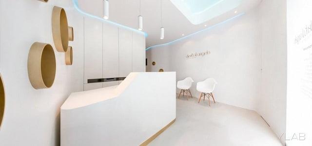 Dental Angels - Thiết kế nội thất phòng khám nha khoa đẹp tuyệt vời - Ảnh 2