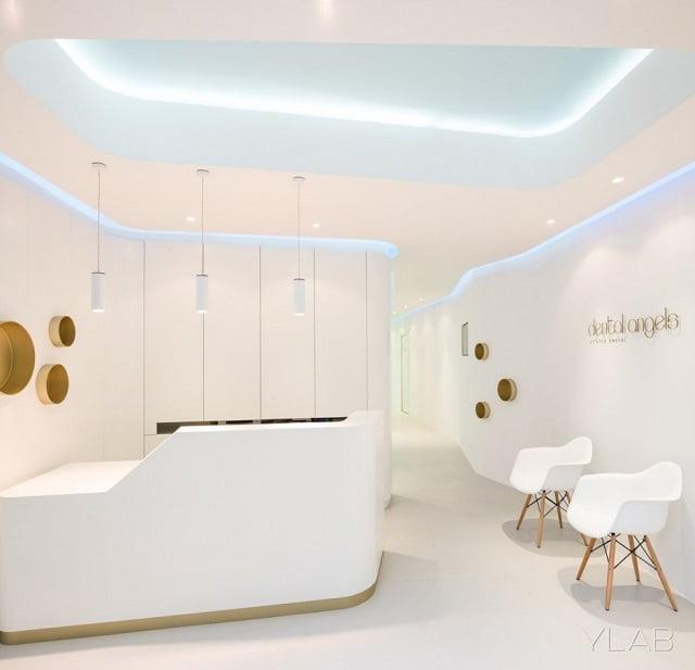 Dental Angels - Thiết kế nội thất phòng khám nha khoa đẹp tuyệt vời - Ảnh 3