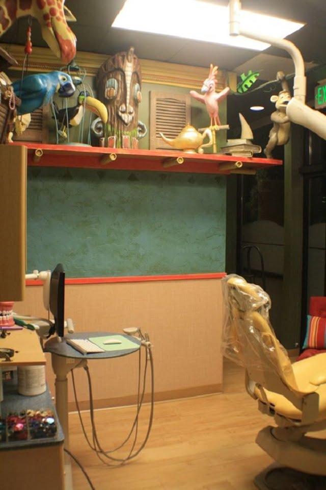 Không gian cho các bạn nhỏ - Thiết kế nội thất phòng khám nha khoa đẹp tuyệt vời - Ảnh 3