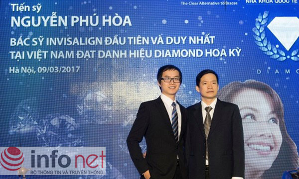 Bác sĩ đầu tiên được nhận danh hiệu Kim cương của Tổ chức Nha khoa quốc tế